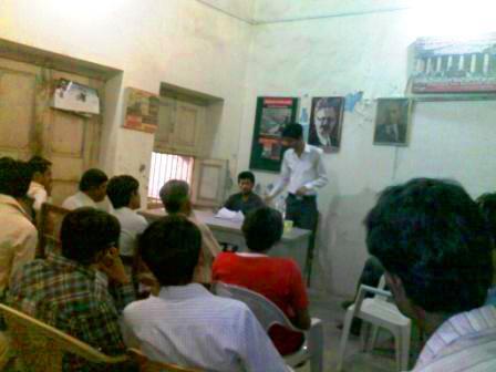 حیدرآباد میں ایک روزہ مارکسی اسکول