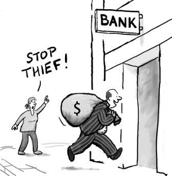 برطانیہ: بینکاروں کی بدکاریاں
