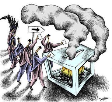اداریہ جدوجہد: انتخابی ناٹک