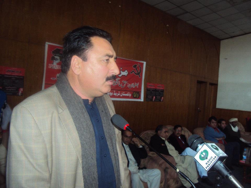 سنیئر وائس پریذیڈنٹ پیپلز یونٹی پی آئی اے راولپنڈی/اسلام آباد، کامریڈ شعیب خان کا انٹرویو