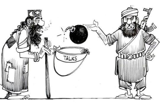 ''مذاکرات'' اور ''جنگ'' کا کھلواڑ