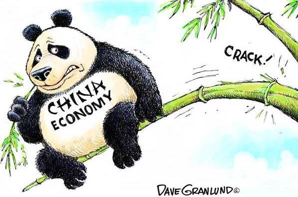 چین کی معاشی تنزلی