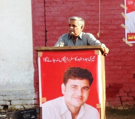ساجد عالم کی وفات پر کامریڈ لال خان کا اظہار خیال