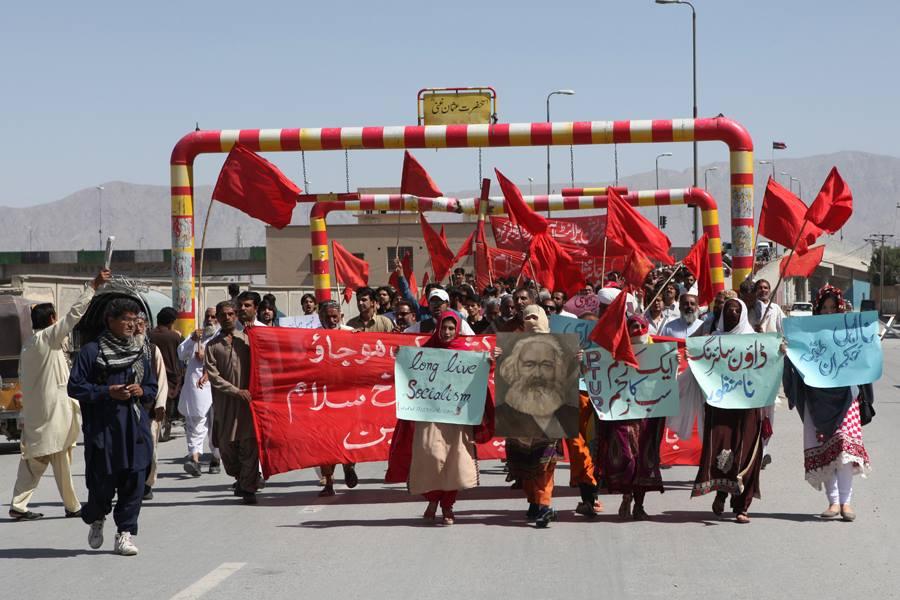 بلوچستان میں یوم مئی کی تقاریب