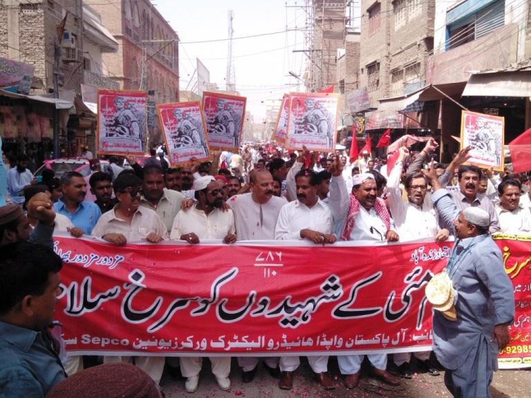 سکھر: یومِ مئی کے موقع پر ریلیاں اور جلسے