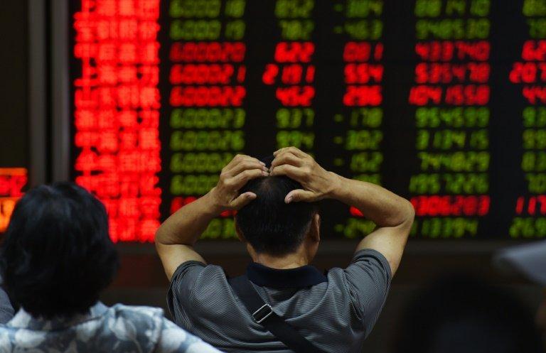 چین: منڈی کی مندی