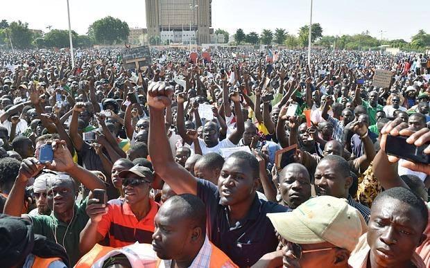 برکینا فاسو: فوجی جبر کیخلاف عوامی تحریک