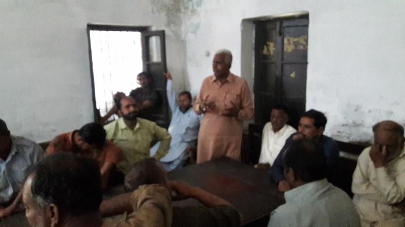 لاہور: ریلوے کے محنت کشوں کا تنخواہوں میں اضافے کے لئے تحریک چلانے کا اعلان