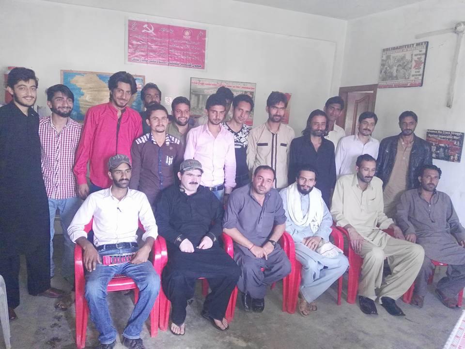 راولاکوٹ: جموں کشمیر نیشنل سٹوڈنٹس فیڈریشن کی مرکزی کابینہ کا اجلاس