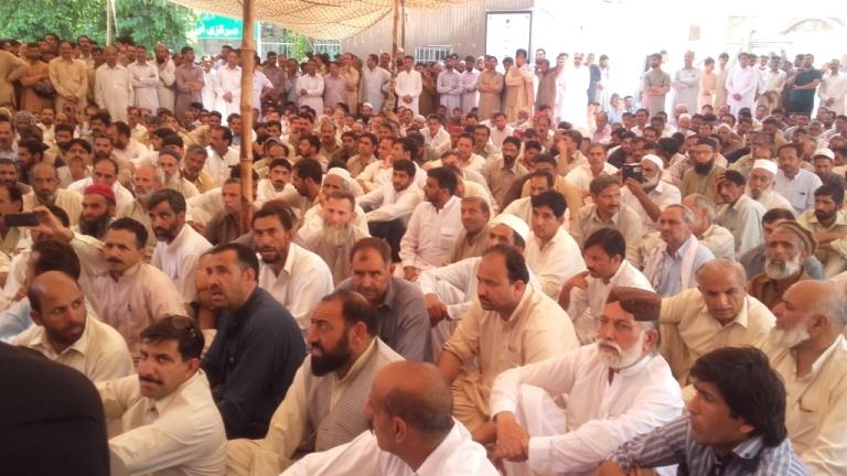 مظفرآباد: تنظیم غیر جریدہ ملازمین اور ایپکا کی کامیاب ہڑتال