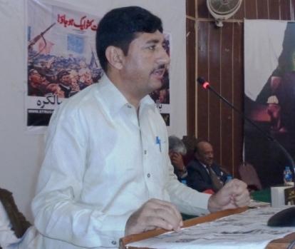 فارورڈ گیئر ورکرز یونین کے صدر محمد علی بٹ پر قاتلانہ حملہ