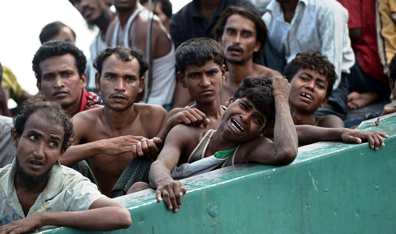 برما میں ریاستی دہشت گردی!