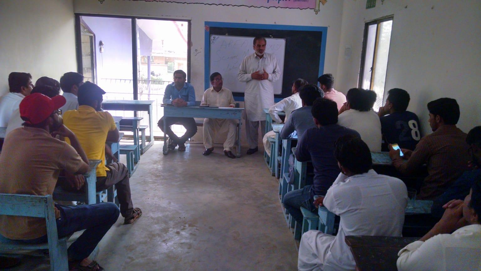 کراچی میں ایک روزہ مارکسی سکول کا انعقاد