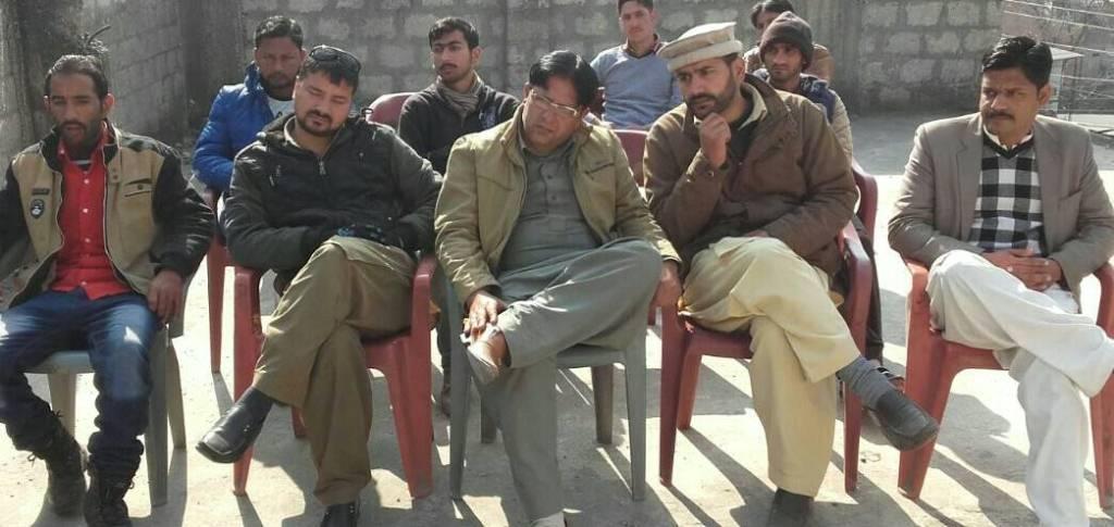 مظفر آباد میں ایک روزہ مارکسی سکول کا انعقاد