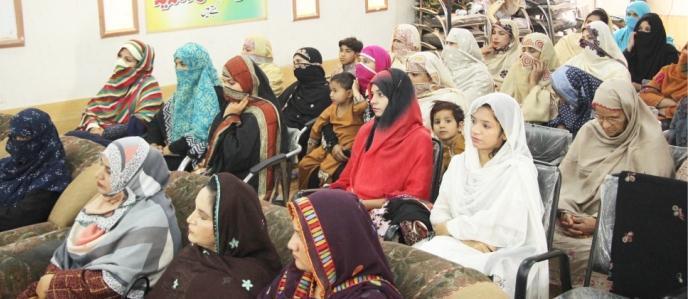 صادق آباد: محنت کش خواتین کے عالمی دن پر تقریب کا انعقاد