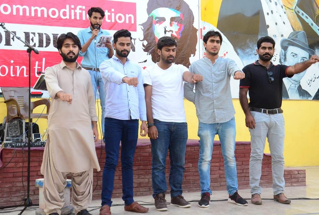 فیصل آباد: انقلابی طلبہ محاذ کے مرکزی پنجاب کنونشن کا انعقاد