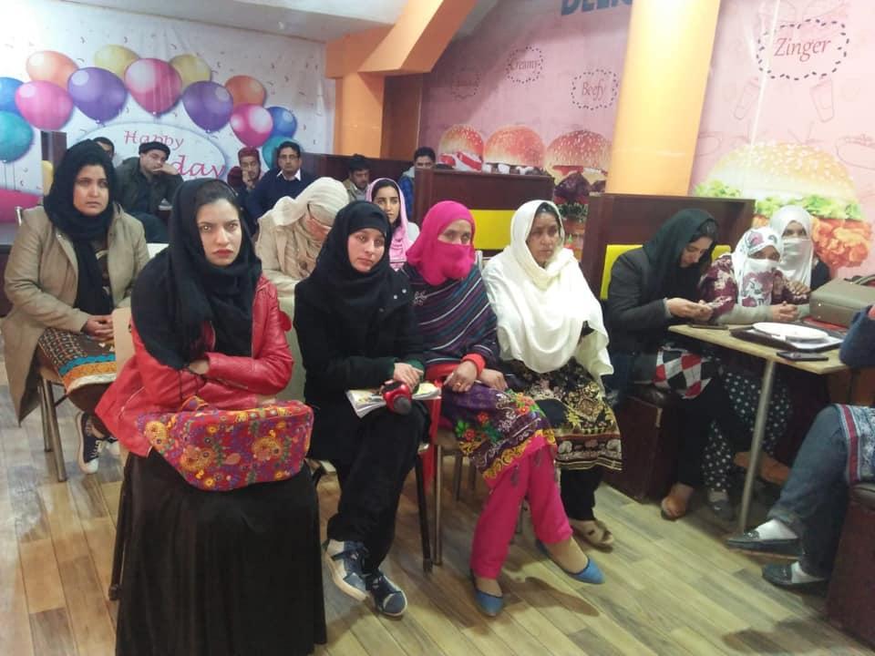 کشمیر: خواتین کے عالمی دن کے سلسلے میں تقاریب